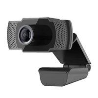 Webcams 1080p Ultra-Clear USB Webcam Video Web Camera 30 Frames / SES para Windows Mac OS Online Atividade UVC Protocol