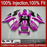 Инъекция для Kawasaki Ninja ZX250R Rose Black EX250 ZX250 08 09 10 11 12 13HC.179 ZX 250R EX250R ZX-250R 2008 2009 2010 2011 2011 2011