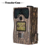 Tensdarcam Wildlife Trail Camera 12MP Infrarot 48 stücke IR LEDs Nachtsicht Tierfalle 1080P Jagdkameras