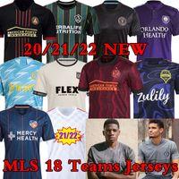 21/22 MLS Inter Miami Soccer Jerseys Atlanta DC United La Galaxy Los Angeles Nork Nork Philadelphia Union Orlando City Cincinnati Nashville Montreal Minnesota Jersey