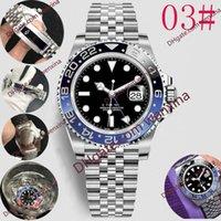 20 Qualità Deluxe 40mm Batman Piccoli Puntatori regolati separatamente 2813 orologio automatico in acciaio inox Montre de luxe watches impermeabile orologi da uomo