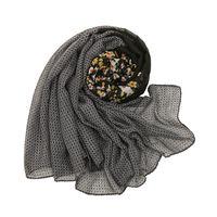 Дизайн бренда женские шарф моды печати вискоз весенний зима теплые геометрические шарфы Hijab Lady Follard Bandana