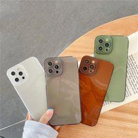 high quality Transparent square TPU phone cases For iphone 13 12 11 pro Max X XS XR XSMax 7 8 Plus protection case