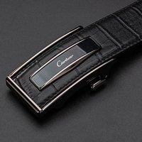 Gürtel Ciarduar Leder Gürtel Automatische Schnalle für Männerin aus Echtem Hollel Herren Luxus Designer Hohe QualiTät