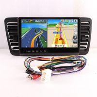 Oonaite 9 인치 안드로이드 10.0 USB 자동차 네비디어 라디오 AM FM DVD 멀티미디어 비디오 플레이어 Subaru 레거시 아웃백 2004-2006에 대한 멀티미디어 비디오 플레이어 GPS 네비게이션