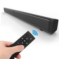 LP-09 Sound Bar Subwoof Bluetooth-динамик Домашняя телевизор ECHO Настенная звуковая панель U-Disk подключение динамика настенный пульт дистанционного управления