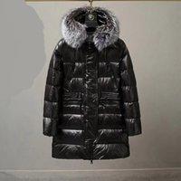 2021 Top Quality Women Winter Long Down Jacket Keep warm Jackets Hooded Coats Womens Couples Designer Winters Coat