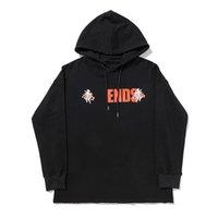 2021 Designer Sweat à capuche Sweats Styliste Hip Hop Sports Squelette humaine Sweat Sweat-shirt Hommes et Womens Sweat-shirt noir S-XL