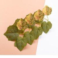 300 pcs folha de bordo artificial plantas seda folhas casamento flores decorativas grinaldas DIY presentes caixa decorações de natal jlliqu