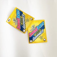600 mg sweetarts ekşi gummies edible gummies paketleme çantası toz geçirmez su geçirmez plastik torba için çocuklara koyular plastik fermuar up tasarım ba