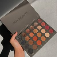 100% новый TATI Beauty Beauty Teeshadow Plate Plite 24 оттенки Пигмент Мэймермер Матовый блеск Lastingtextured Eye Shadow Palette