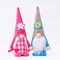 Easter Gnome Flower Faceless Dwarf Doll Valentine Day Mother...