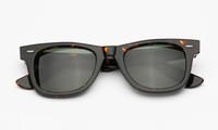 Homens mulheres óculos de sol declínio ângulo 50mm quadrado acetato quadro real uv400 lentes de vidro apropriado sombreamento de praia, condução, pesca, com caixa de acessórios.