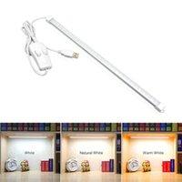 Table Lamps USB Led Bar Light Desk Lamp 35cm Bedside Cabinet Cupboard Bookcase Rigid Tape Home Computer Reading