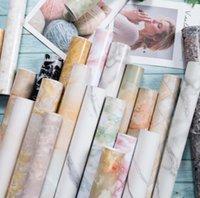 Wallpapers Décor & Gardenpremium Marble Pvc Waterproof Self Adhesive Wallpaper Diy Furniture Cabinet Wardrobe Renovation Home Decor Kitchen