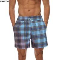 Kancool Summer Wholesale Board Hommes Casual Short Beach Marque Bermude Bermudas Masculina de Print Hommes Boardshorts 2021