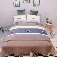 Blankets Crystal Velvet Quilted Or Covered Blanket For Bed In Bedroom Fashion Lace Craft Sleep Home Product Spring