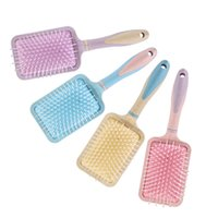 Brush Massage Hairbrush Comb Prevent Trichomadesis Hair SAC Massager Wood TPE Airbag Brushes Colorful