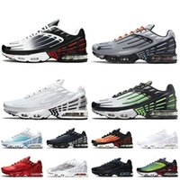 Top Quality 2021 Tn Plus 3 Tuned III Women Mens Running Shoes Multi White Black Grey Hyper Purple Radiant Red Ghost Green Crater F jamee