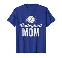 الكرة الطائرة أمي تي شيرت للنساء