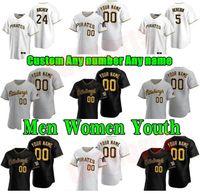 20 21 Pittsburgh Männer Frauen Kinder Piraten Baseball Trikots Chris Archer Corey Dickerson Josh Bell Cole Tucker Jameson Taillon Jung Honus Wagner Clemente