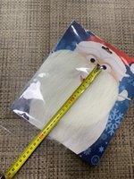Natale santa bianco barba barba barba santa claus barba baffi baffi unisex fantasia vestito xmas cosplay party stage prestazioni prope prestazioni prope prestazioni puntello DBC VT0742