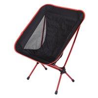 Tragbare zusammenklappbare Camouflage Campingstuhl Mondstuhl für Outdoor Camping Angeln Picknick Wandern