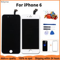 100% No Dead Pixel For iPhone 6 LCD Display All Test One by One LCD Module With Touch Glass Digitizer Assembly Replacement