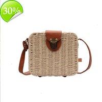 HBP Women Single Shoulder Bag Straw Weave Handbag Purse Crossbody Bags Hollow OuT Cross Body Bag Clutch Purse