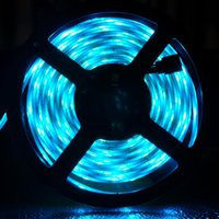 Strips RGB 2835 Flexible a prueba de agua Cinta de la lámpara Diodo DC 12V 5M 44-Tecla Controlador Conjunto Ledstructs LED