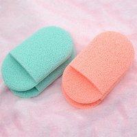 Éponges, Applicateurs Coton 1PC Visage Nettoyant Sponge Sponge Glove Glove Style Facial Maquillage Maquillage Maquillage Cosmétique Tool)