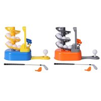 Golf Training Aids Ball Serve Portable Children Kids Family Toy Practice Trainer Set Automatic Servings Machine