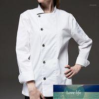 Siyah Beyaz Uzun Kollu Gömlek Otel Restoran Şef Ceket Mutfak Üniforması Bistro Bar Cafe Hospitality Catering İş Giyim B741