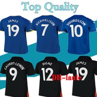 2021 2022 The Toffees Soccer Jerseys James Richarlison Kean Davies Uniforms Uniformi Top Kit uomo Set di bambini Set uniforme