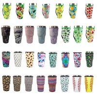 Drinkware Handle 31 Design Print 30oz Reusable Ice Coffee Cup Sleeve Cover Neoprene Insulated Sleeves Holder Case Bags Pouch For umbler Mug Water Bottle ZC423