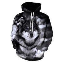 Biaolun New Wolf Hoodies Hoodie Men's Hoodie Hip Hop Hip Hop Moletom Com Capuz Casual Marca Casual Head Head Hoodie Sweatshirt S-6XL Y200519