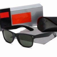 2021 Designer Ray Uomo Donna Occhiali da sole Vintage Pilot Brand Bans Band UV400 Protezione Occhiali da sole con CAES 88