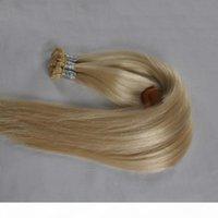 300 граммов Плоские наконечники Наращивания волос 100% Rem My Кератиновые наращивания человека