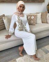 Ethnic Clothing 2021 Embroidery Abaya Dubai Turkey Muslim Dress Kaftan Islamic Women Robe Musulman Femme Vestidos