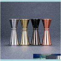 Tools Barware Kitchen, Dining Home & Gardencocktail Bar Design Japanese Stainless Steel Measuring Cup Jigger Double Spirit Bartender Drop De