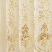 AlitegtileBtoc tamanho europeu tamanho cortinas 2 * 2,6m / 3 * 2.6m decoração luminosa cortinas de sombreamento para quarto de vida