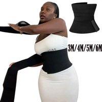 Женские формирователи талии Trainer Женщины для похудения Оболочка Me Up Bandage Whert Body Shaper Tummy Craweave Sports Fitness Corset Top Stretch