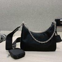 2021 السيدات رسول حقيبة واحدة الكتف جودة عالية الرجال نايلون حقيبة يد الأكثر مبيعا فتاة المتشرد المحفظة (مع صندوق وكيس الغبار) 0000