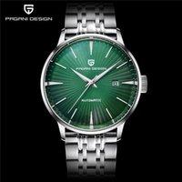 Pagani تصميم الساعات رجل التلقائي المعصم الميكانيكية الصلب ساعات للماء الأعمال على مدار الساعة تقويم