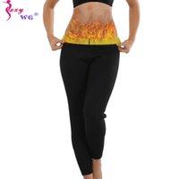 SEXYWG Waist Trainer Slimming Pants body shaper sauna pant Slim Leggings Shapewear Weightloss Tummy Control Belly Wrap