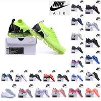 Nike Air Vapormax Flyknit 3.0 الاحذية Airmax2018 أبيض نقي البلاتين سبج الثلاثي الأسود moc أوريو حك maxes رجل المدربين إمرأة الرياضة أحذية رياضية zapatos