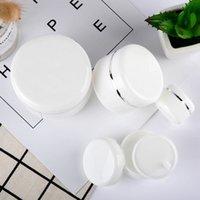 Blanco Portátil Subpaquetar Frascos Vacíos Cosméticos Durables Contenedores Nuevos Ojos Cara Mascarilla Crema Caja de Almacenamiento Reciclable 0 9RX F2