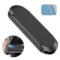 Auto Mobiltelefonhalter I-förmiger Magnetauto-Halterung Magnetische Saugnavigationshalterung Mini-Halterung für Xiaomi iPhone Samsung