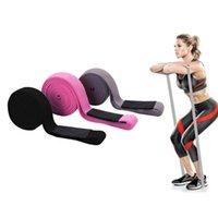 Widerstandsbänder Lange Stoff Home Fitness Pull Up Assist Assistent Beute Hüfte Trainingsschleife Elastische Yoga Gym Training Übung