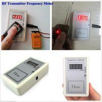 Code Readers Strumenti di scansione per auto remoto Key Cymometer Detector Frequenza Test Palmare Misuratore di controllo Palmare 250-1000MHz RF Trasmettitore